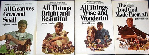 James Herriot's 4 Vol. Set (All Creatures Great and Small, All Things Bright and Beautiful, All Things Wise and Wonderful, The Lord God Made Them All) by James Herriot (1986-01-03)