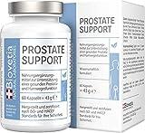 Biovetia Prostata Support, natürliche Unterstützung für eine gesunde Prostata Funktion, gegen Blasenbeschwerden, zur Unterstützung gesunder Harnwege, 60 Kapseln