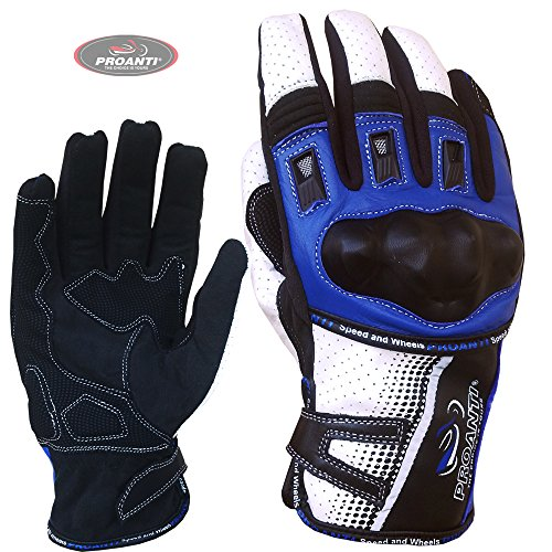 PROANTI Motorradhandschuhe Sommer Motorrad Motocross Handschuhe - Größe L