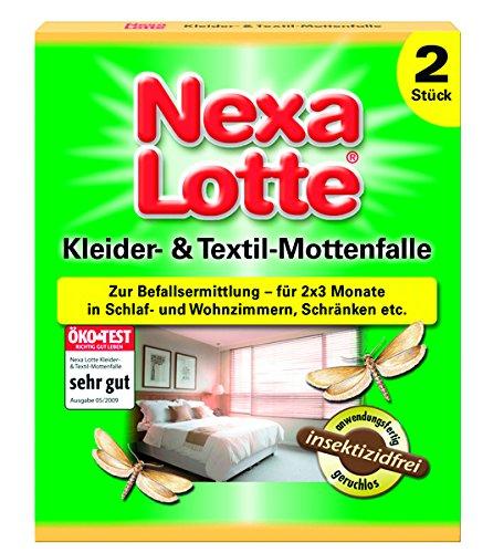 Nexa Lotte Kleider- & Textil-Mottenfalle - 2 St.