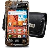 MTT Pochette horizontale avec clip ceinture et dragonne de sécurité pour Samsung Galaxy Xcover S5690