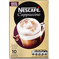 NESCAFÉ Café Cappuccino | Caja de sobres | 6 Paquetes de 10x14g de café - Total: 840g