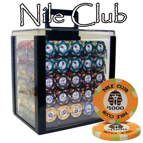 Brybelly 1000 CT Nile Club Poker-Set - 10 g Casino Grade