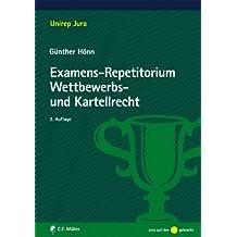Examens-Repetitorium Wettbewerbs- und Kartellrecht (Unirep Jura)