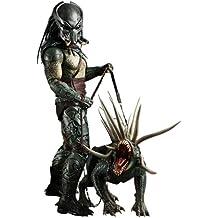 *Predators figurine Movie Masterpiece 1/6 Tracker Predator with Hound 35 cm*
