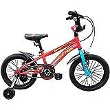 "Firefox Bikes Flytron 16T Kids Cycle I Ideal for :5-7 Years I Light Weight Frame   Anti-Skid Pedal I BMX Handlebar I Non Toxic Paint I Power Brake I Seat Height Adjustment I Frame Size: 8.5"""