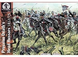 Waterloo 1815 - Hussards prussiens de la Mort - 032 d'occasion  Livré partout en Belgique