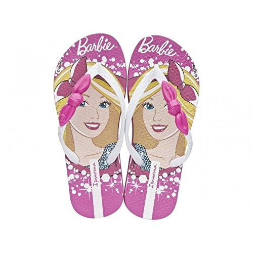 Ipanema Barbie Style Kids, Tongs fille Multicolore - weiß-rosa (81884-23408)