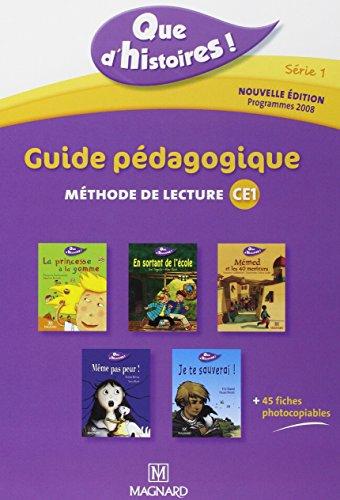 Guide pdagogique, mthode de lecture CE1 Srie 1 : Guide pdagogique avec 45 fiches photocopiables