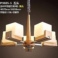 PC 3 / 5 Capo semplice e moderno in legno