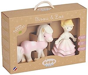 Papo- Baby Girl Gift Set Figura, Multicolor (35006)
