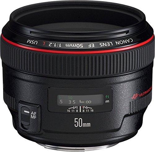 Canon EF 50mm/1:1,2 L USM Objektiv (72 mm Filtergewinde) (Xs Eos Rebel Canon)