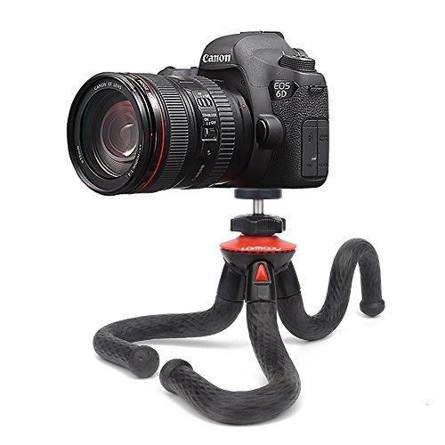 Kamera Stativ, Lammcou 3in1 Ministativ Kamera Handy Flexibel Leicht Stative Universal Robust Octopus Gorillapod Dreibein-Stative Ständer für Kamera Camcorder + Smartphone + Action Kamera, Tripod