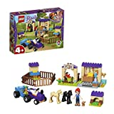 LEGO 41361 Friends Mias Foal Stable Building Set, Mia mini-doll and Animal figures, Horse Barn and