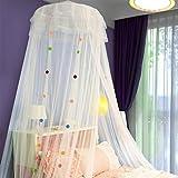 uus Deckenhaube-Moskitonetze Palast Prinzessin Bett Mantel 1,2 / 1,5 / 1,8 m Bett Student Betten ( Farbe : Weiß )