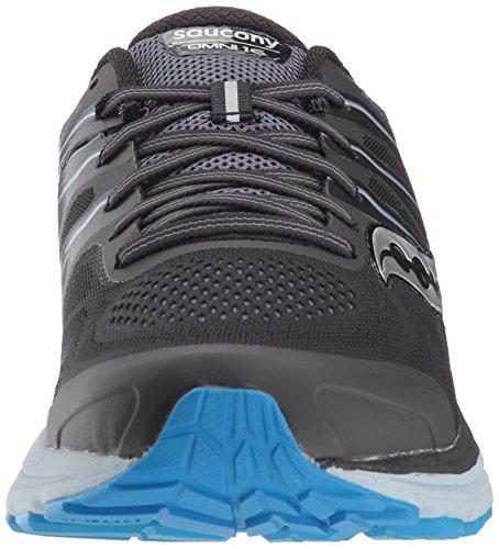 Saucony Omni 16, Chaussures de Running Homme Noir (Blk/gry/blu 4)