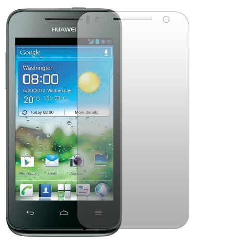 2 x Slabo Displayschutzfolie Huawei Ascend G330 Displayschutz Schutzfolie