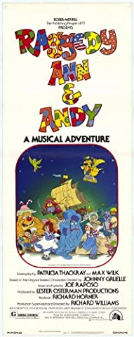 Raggedy Ann and Andy Affiche du film Poster Movie Raggedy Anne et Andy (14 x 36 In - 36cm x 92cm) Insert Style A