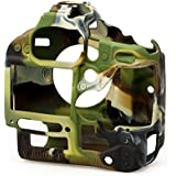 EasyCover Silicone Protective Camera Cover / Case for Canon 700D Camouflage