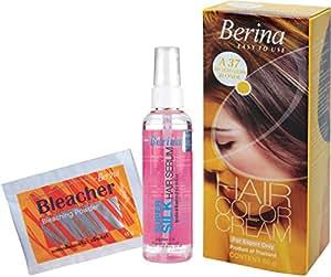 Berina Hair Color, Serum and Bleacher, Very Light Golden Blonde