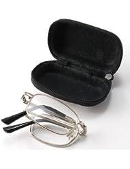 Frame THG metal anti-fatiga plegable plegable de bolsillo Gafas de lectura Gafas Gafas 2.00 Cintur¨®n Caso Fuerte Viajes el¨¢stico
