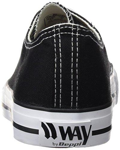 De preto Beppi Zapatos Hombre La Del 2149111 Aptitud Negro 45xHxqEOw8