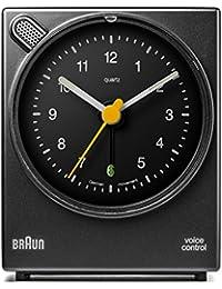 Braun BNC004BKBK Sveglia classica con attivazione vocale - Nero