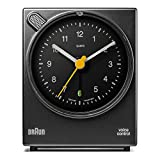 Best Braun Alarm Clocks - Braun Classic Voice Activated Alarm Clock BNC004BKBK Review
