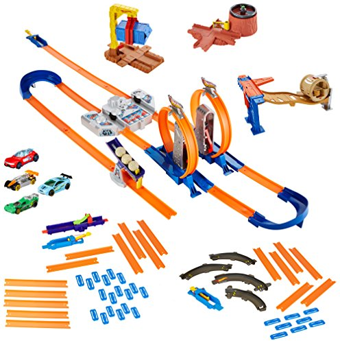 Hot Wheels Track Builder System Mega Set by Hot Wheels