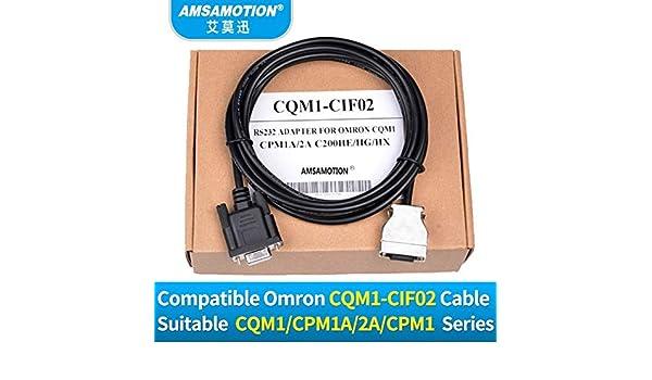 1PC nouveau amsamotion PLC Programming Cable CQM1-CIF02