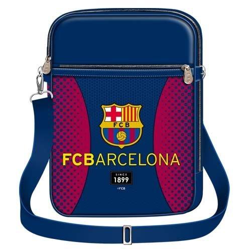 FC Barcelona - Bolso hombro sintético hombre azul
