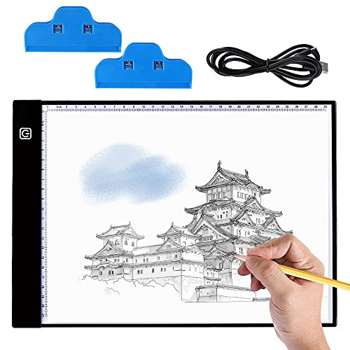 tablet disegno BASEIN 5D Lavagna Luminosa Ultra Sottile LED