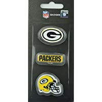 NFL Football Green Bay Packers dreiteiliges Pin Badge Set