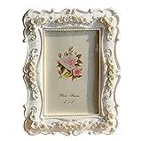 Gzq cornice chic rustico cornice portafoto per matrimonio certificato Family Baby paesaggio immagini decorazione regalo di Natale