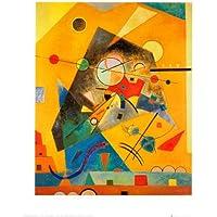Lámina 'Quiet Harmony', de Wassily Kandinsky, Tamaño: 50 x 40 cm