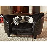 """'Perros perro cama de peluche sofá sofá cama para perros Perros cesta Dormir Espacio cama Blacky I """""""