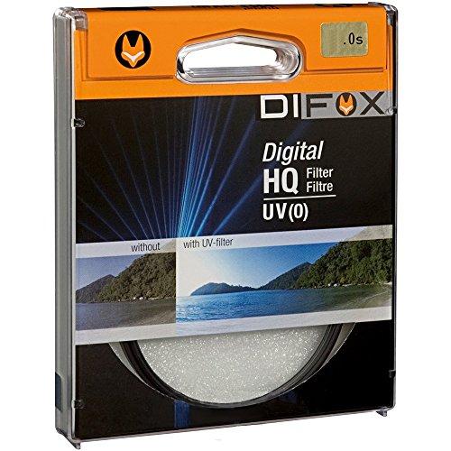 DIFOX HQ UV (0) digital 55 Kamera Filter