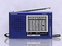 TECSUN R-911 AM/ FM / SW Multi Bands Radio Receiver (Blue)