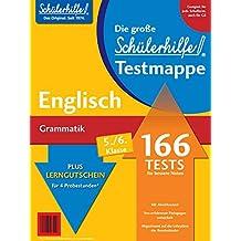 Testmappe Englisch Grammatik (Kl. 5.-6.)