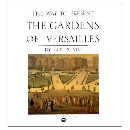 The way to present the gardens of Versailles