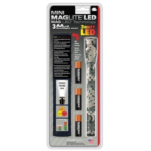 Maglite sp23mrh 3-aa Zelle Mini LED Taschenlampe, Camo