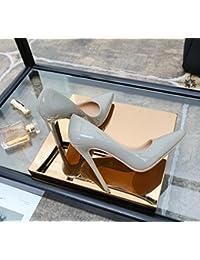 Zapatos de Tacón Alto con Zapatos de Mujer Elegantes,Mi,39