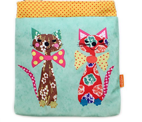 giftsbynet, Borsa a spalla donna CATS IN BOW TIES