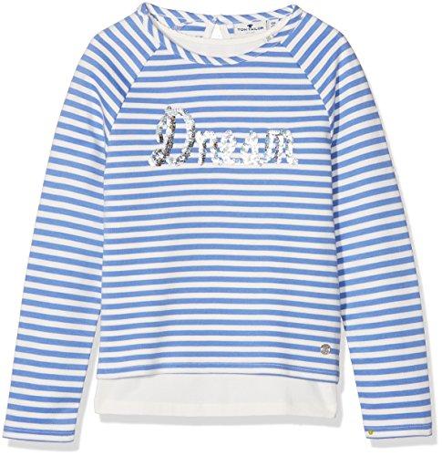 TOM TAILOR Kids Mädchen Sweatshirts, Blau (Sunset Blue 6886), 104 (Herstellergröße: 104/110)