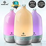 Home Spa Luxury Home Office Cool Mist Aroma Essential Oil Diffuser & Humidifier (200 ML Capacity )