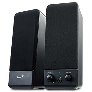 iChoose® Compact Multimédia Enceintes 2.0 / haut-parleur ensemble pour PC / Mac / ordinateur / portable