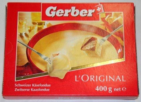 Käsefondue Gerber 400 gramm
