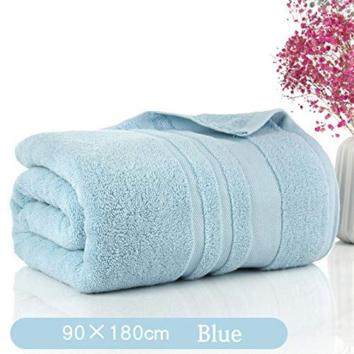 SNOLEK Haushalts-Baumwoll-Badetuch Parkrou-Blau (90 * 180cm750g) -