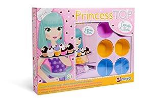 Dinova - Princess Top Cupcakes & Muffins, labores para niños (D0959001)