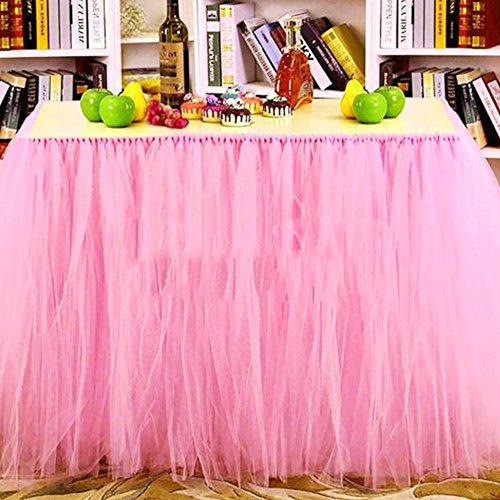 gonna morbida Tulle tavolo per decorazione della festa nuziale di Natale bambino doccia, stoviglie a mano da GPMNEAR